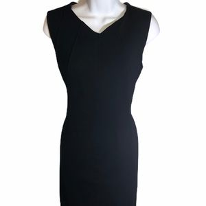 J. McLaughlin Sleeveless Sheath Dress in Black